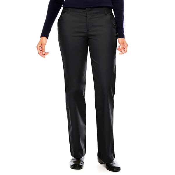 18910a01f41 Compared to Similar Items. Current Product. Dickies® Womens Relaxed-Fit  Straight-Leg Stretch Twill Pants