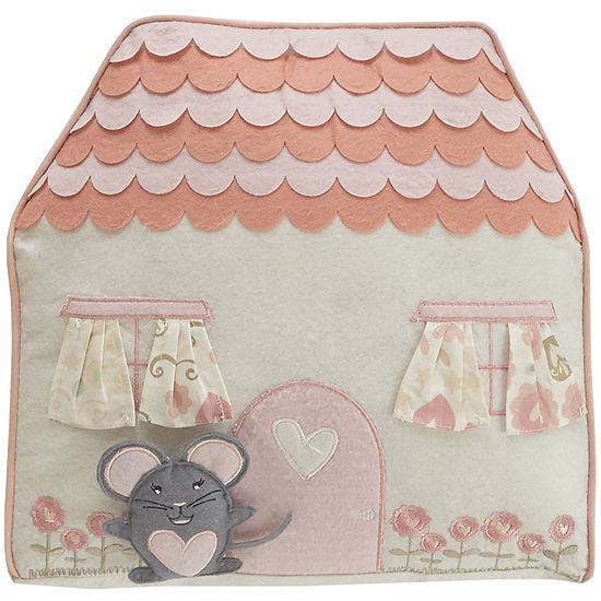 Frank and Lulu Spring Meadow Novelty Decorative Pillow
