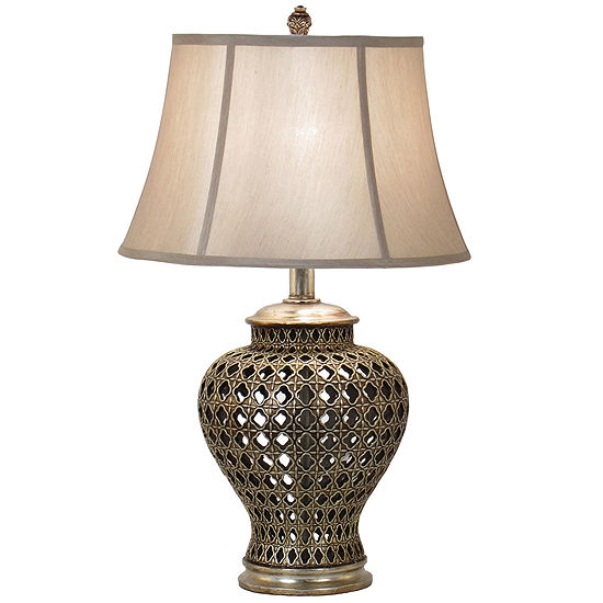 Jcpenney home pierced urn table lamp jcpenney jcpenney home pierced urn table lamp aloadofball Image collections