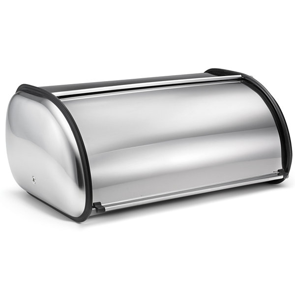 Polder® Stainless Steel Bread Bin