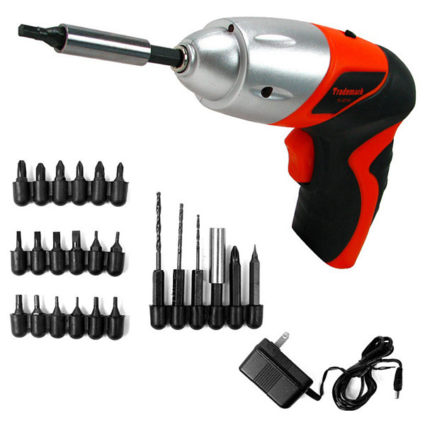 Stalwart™ 25-pc. Cordless Screwdriver Set