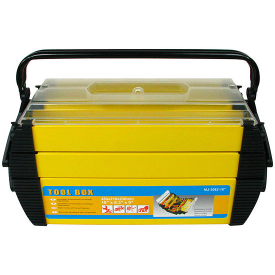Stalwart 18 Cantilever 2 Tray Tool Box