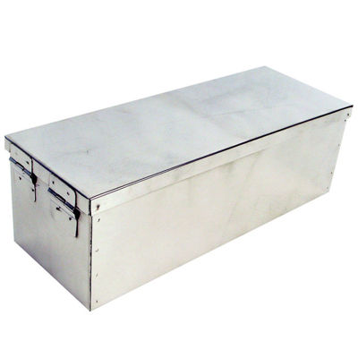 "Stalwart™ 12"" Metal Storage Lock Box"