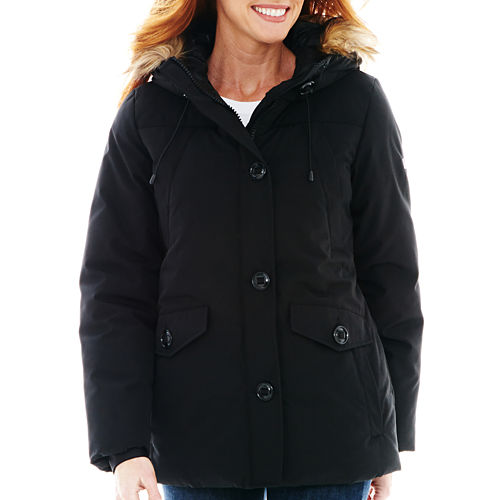 ZeroXposure Faux-Fur Hooded Jacket