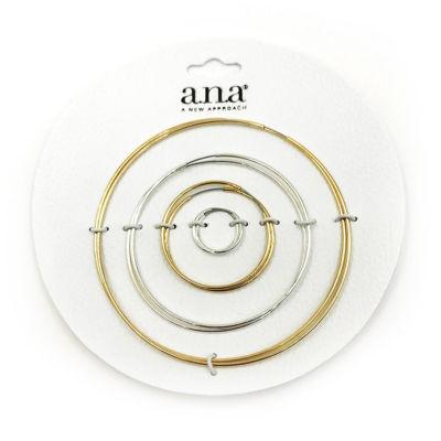 a.n.a 4 Pair Earring Set