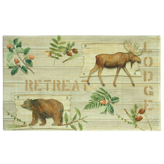 Bacova Guild Lodge Retreat Printed Rectangular Indoor Rugs