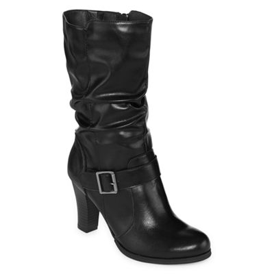 East 5th Womens Nile Wide Calf Slouch Boots