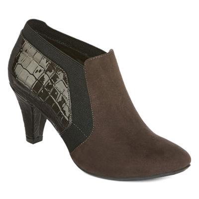 east 5th Womens Quiney Booties Stiletto Heel Elastic
