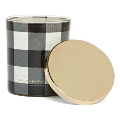 Peyton & Parker Checker Jar Candle