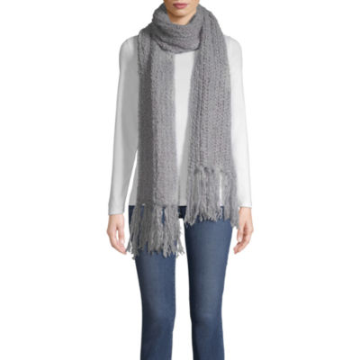 Mixit Fuzzy Oblong Cold Weather Scarf