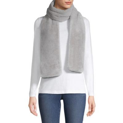Mixit Faux Fur Oblong Cold Weather Scarf