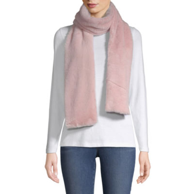 Mixit Faux Fur Oblong Cold Weather Scarf
