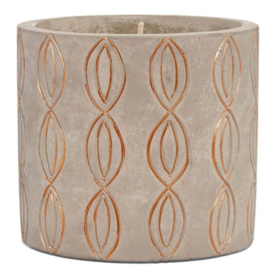Mixit Etched Jar Candle