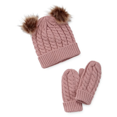 Mixit Me Beanie And Mitten Set