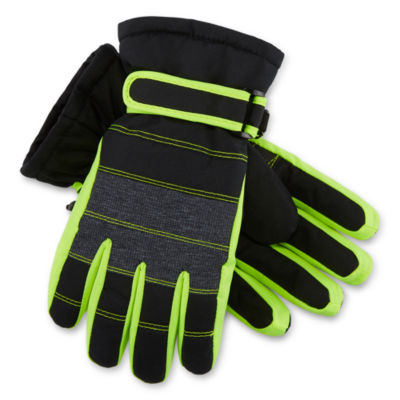 Igloos Boys Cold Weather Gloves-Big Kid