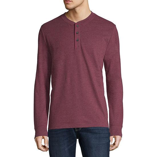 88414775f93 St. John s Bay Mens Long Sleeve Henley Shirt - JCPenney