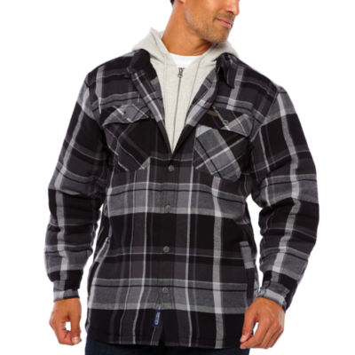 Smith Fleece Lined Hood & Insert W Yarn Dye Flannel