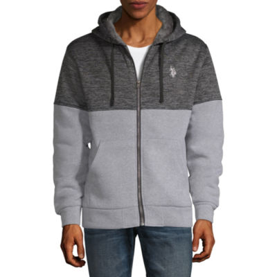 U.S. Polo Assn. Mens Long Sleeve Embroidered Hoodie