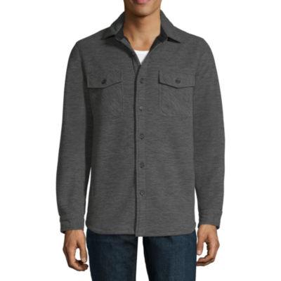 Boston Traders Fleece Lightweight Shirt Jacket