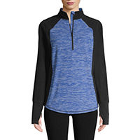 St. John's Bay Active 1/4 Zip Polar Fleece Jacket Deals
