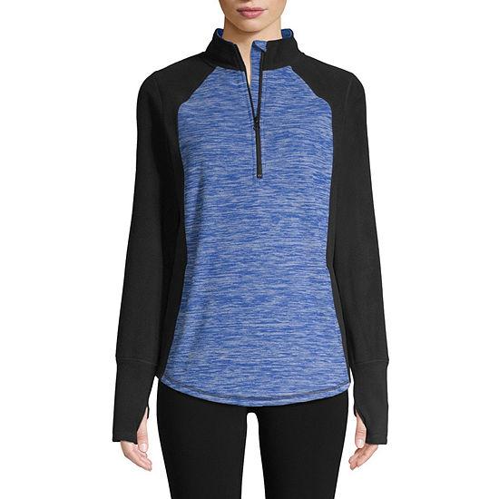 St. John's Bay Active Womens Long Sleeve Sweatshirt