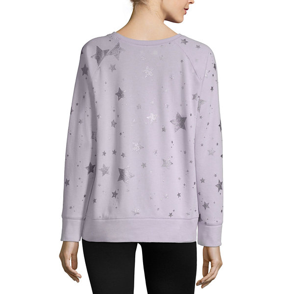 Xersion Oversized Graphic Sweatshirt