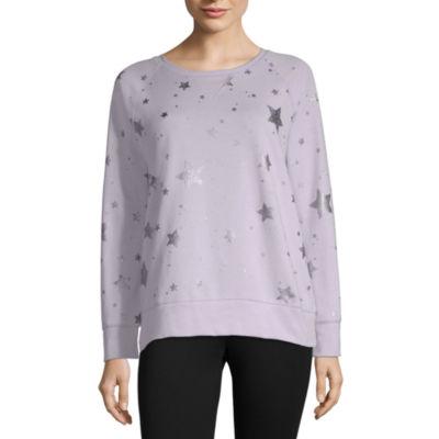 Xersion Oversized Graphic Sweatshirt