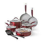 Cooks Ceramic 12-pc. Cookware Set