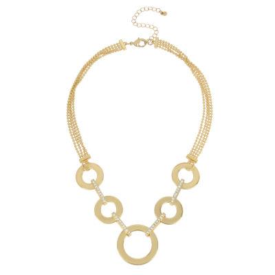 Worthington Womens Collar Necklace