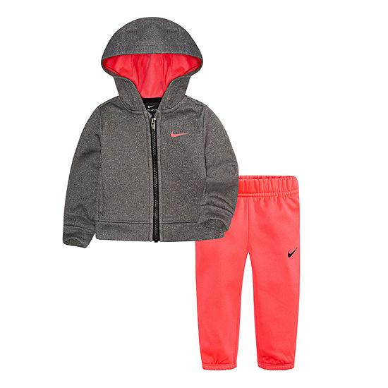 Nike Toddler Girls 2-pc. Logo Pant Set