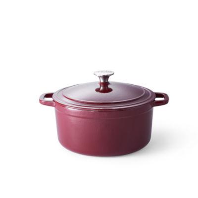 Cooks Signature 5.5-Qt. Round Enameled Cast Iron Dutch Oven