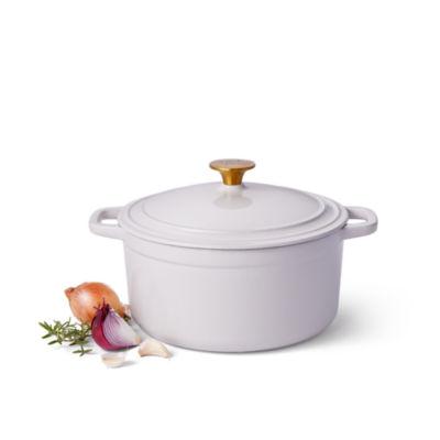 Cooks Siganture 5.5-Qt. Round Enameled Cast Iron Dutch Oven
