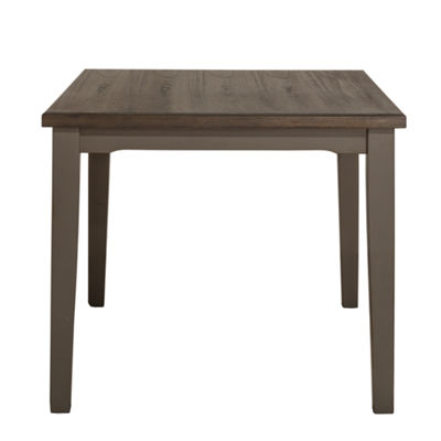 Hillsdale House Clarion Rectangular Wood-Top Dining Table