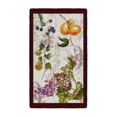 Brumlow Timeless Fruit Printed Rectangular Indoor Rugs