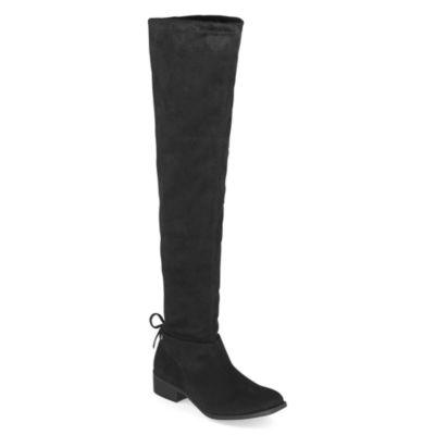 Arizona Womens Pines Block Heel Over the Knee Boots