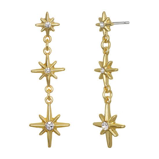 Mixit Star Drop Earrings