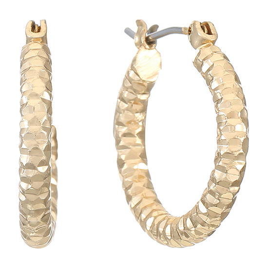 Liz Claiborne 1 Pair Hoop Earrings