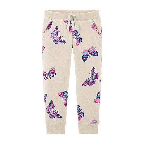 Oshkosh Girls Pull-On Pants - Toddler