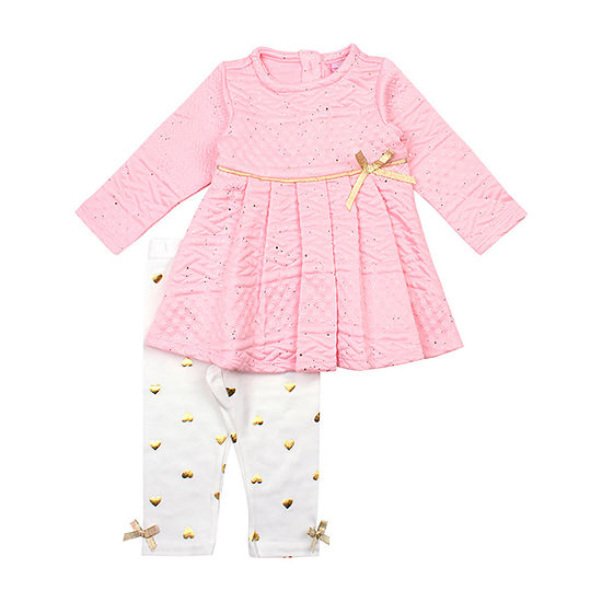 Nanette Baby Girls 2-pc. Legging Set-Preschool