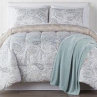Sophie 4-pc. Reversible Comforter Set Queen