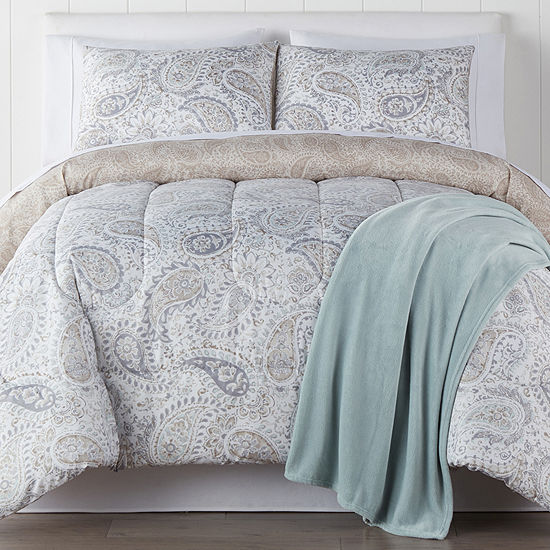 Sophie 4-pc. Reversible Comforter Set