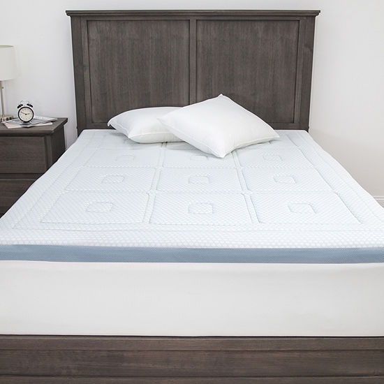 "SensorPEDIC SensorCOOL 3"" Memory Foam Mattress Topper"