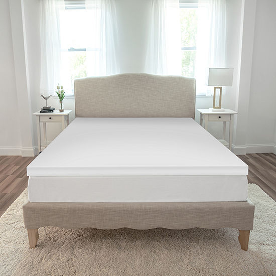 "SensorPEDIC 2"" Essentials Memory Foam Mattress Topper"