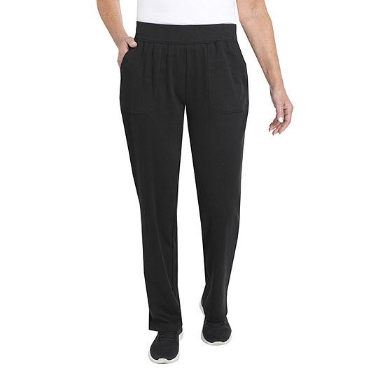 Cathy Daniels Rose Petal Womens Straight Pull-On Pants