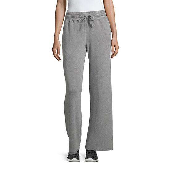 Xersion Womens Mid Rise Wide Leg Sweatpant