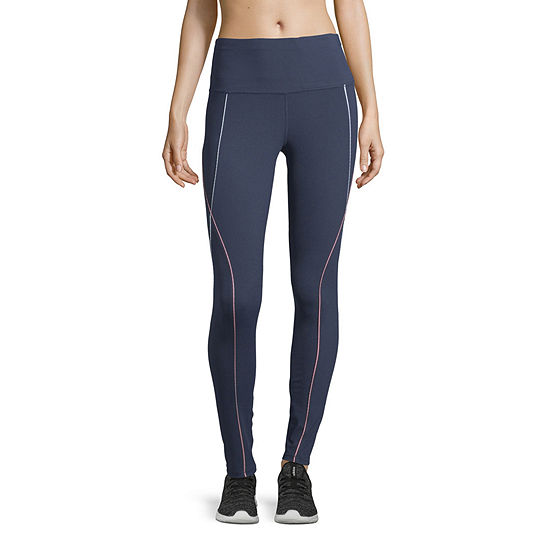 Xersion Womens High Waisted Piped Legging