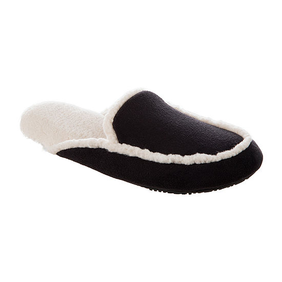 Isotoner Microsuede Womens Slip-On Slippers