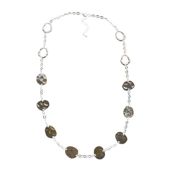Bold Elements 32 Inch Cable Strand Necklace