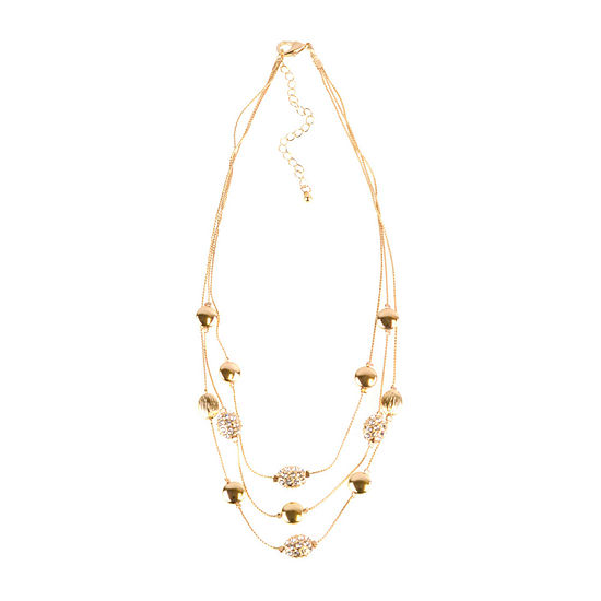 Bold Elements 17 Inch Collar Necklace