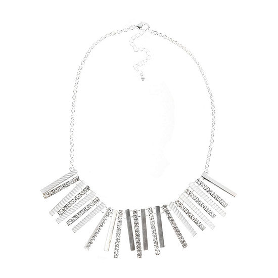 Bold Elements 18 Inch Link Collar Necklace